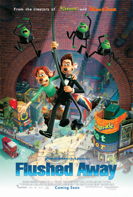 Watch Flushed Away (2006) Online For Free Full Movie English Stream