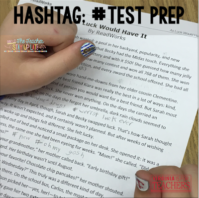 Do you teach upper elementary? If so, this post is for you. Kids love hashtags, and why not use them to increase understanding? Check out this post to learn how.