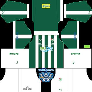 bursa 2018 2019 yeni sezon dls fts forma ve logo