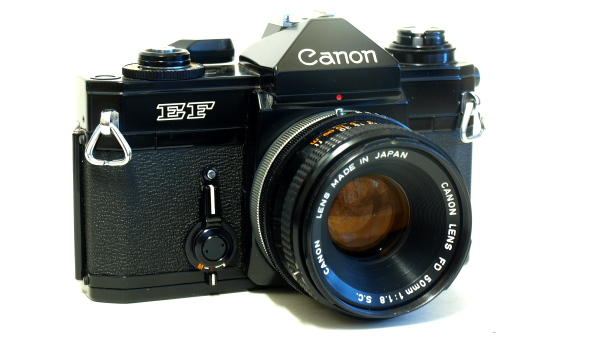 Canon EF 35mm SLR, The Black Beauty