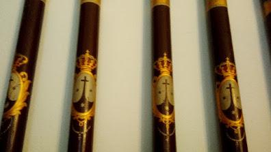 Varas da Ordem do Carmo utilizadas em cerimônias públicas