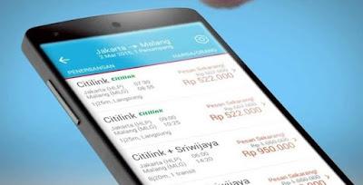 Cara Booking Tiket Pesawat / Kereta di HP Android
