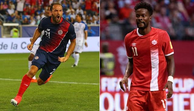 Costa Rica vs Canada en vivo