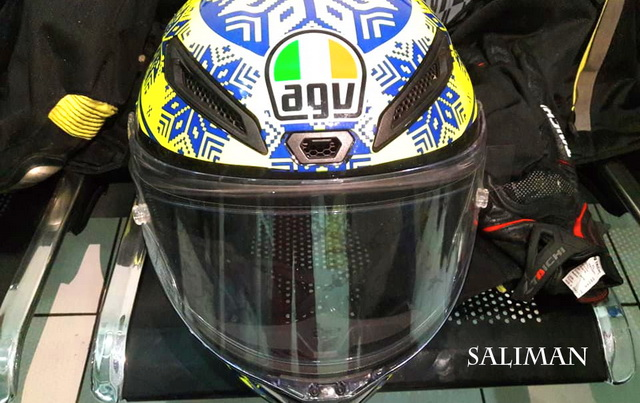 Keunggulan Helm AGV Corsa Limited Edition