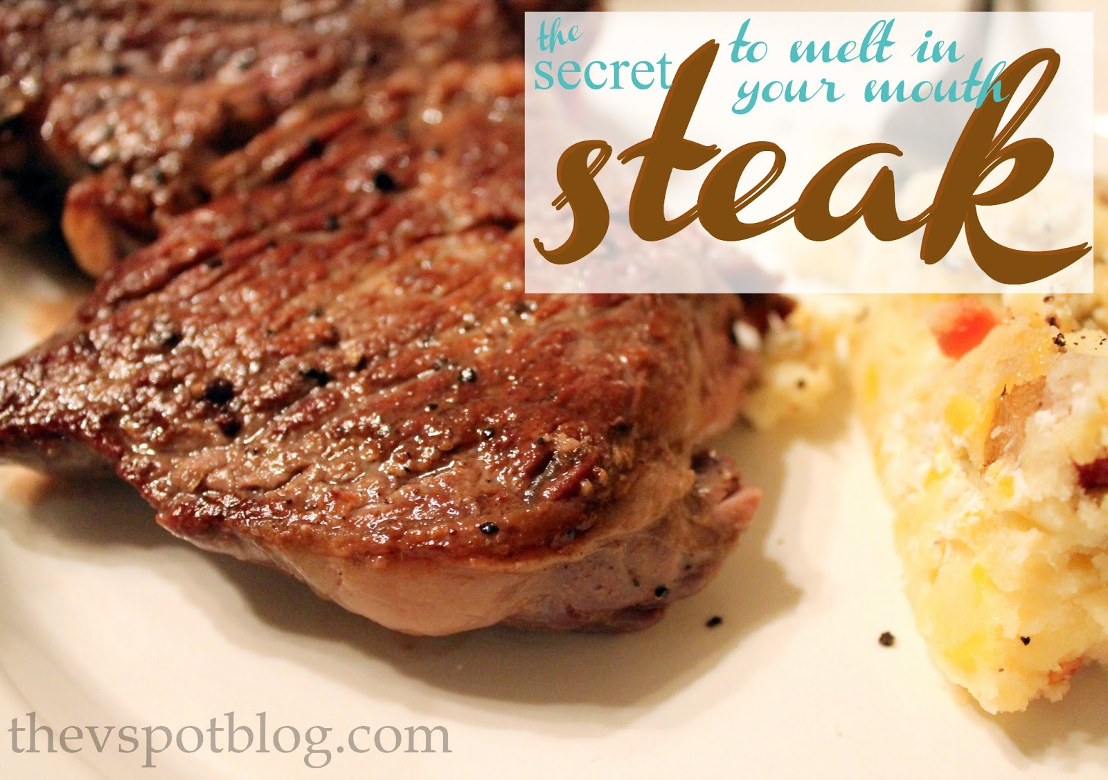 The Secret To Melt In Your Mouth Steaks Make Cheap O Cuts Taste Like Prime The V Spot