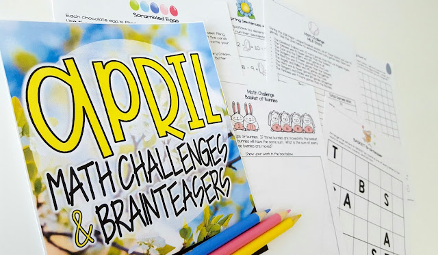 https://www.teacherspayteachers.com/Product/April-Math-Challenges-Brainteasers-Easter-Baseball-Candy-Spring-Themes-3071359?utm_source=ST%20Blog&utm_campaign=April%20Math%20Challenge%20Posts