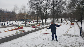 Bangolf Vasaparken in Vasastan, Stockholm