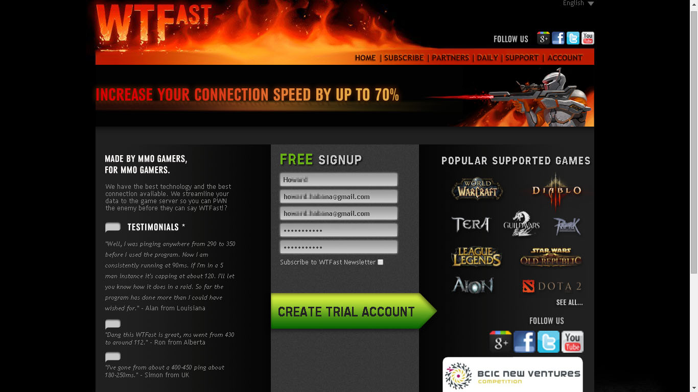 Simple Trick To Get You Another WTFast 14 Days Free Trial