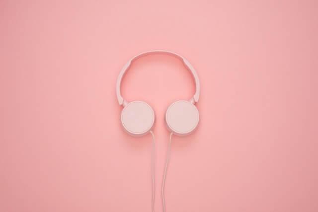White Headphones HD Copyright Free Image