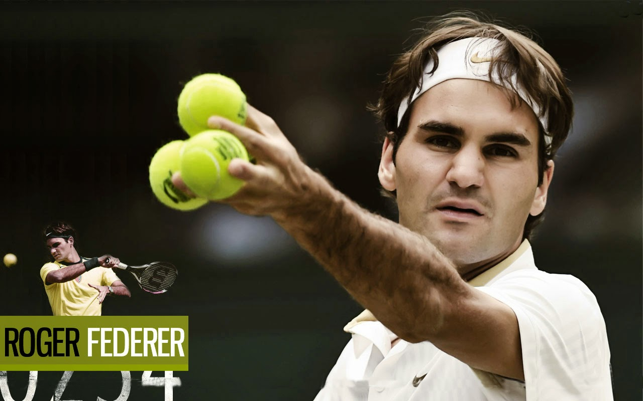 All About Sports Players Roger Federer Hd Wallpapers 2014