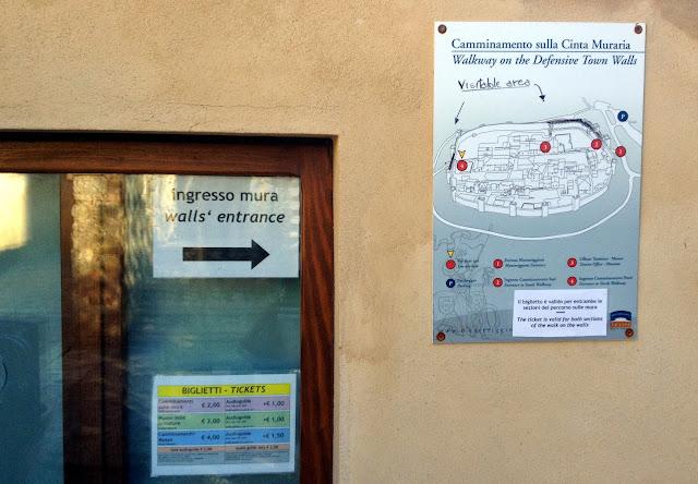 precio y horario de Monteriggioni