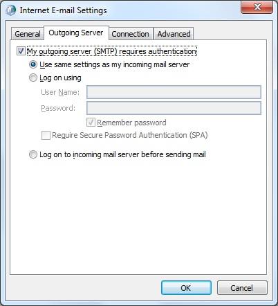FIX IT: Outlook POP3 Server error: '550 5 7 1 Unable to relay
