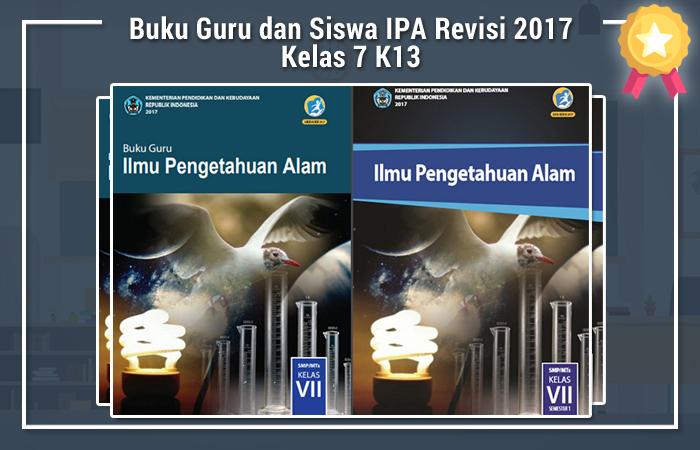 Buku Guru dan Siswa IPA Revisi 2017 Kelas 7 K13