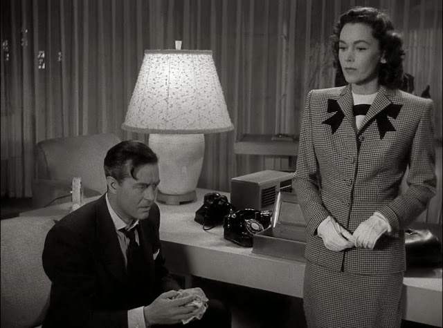 Ray Milland, Maureen O'Sullivan -The Big Clock (1948)