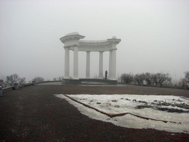 Туман на Ивановой горе