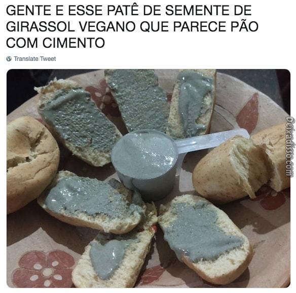Pão com cimento