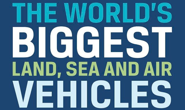 Image: The World's Biggest Land, Sea and Air Vehicles