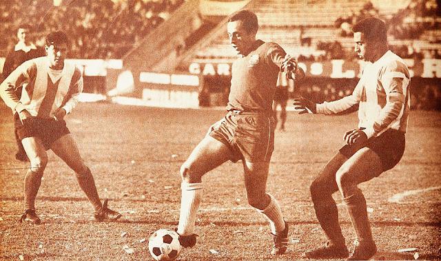 Argentina y Chile en Copa Carlos Dittborn 1965, partido de ida