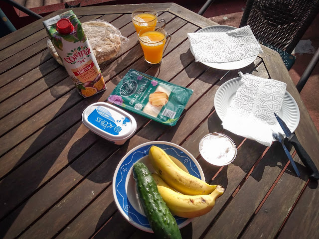 Mic dejun in Funchal, Madeira