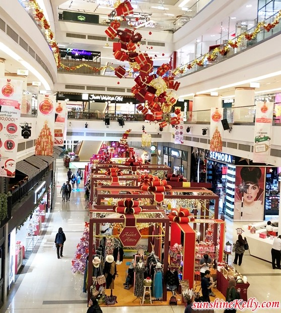 The Art of Gifting, Avenue K, Shopping Centre Christmas Decorations, Malaysia Shopping mall, christmas 2018, lifestyle, avenue k