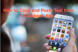 How to Copy and Paste From Facebook