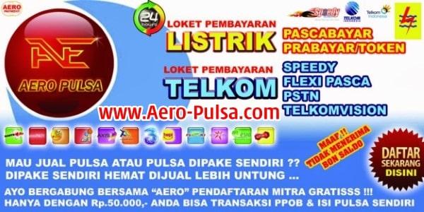 Aero-Pulsa.Com Web Resmi Server Ae Mitra Pulsa Termurah Saat Ini