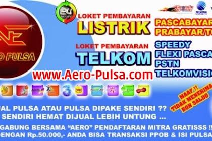 Distributor Aero Ae Mitra Pulsa Murah Cijambe, Subang
