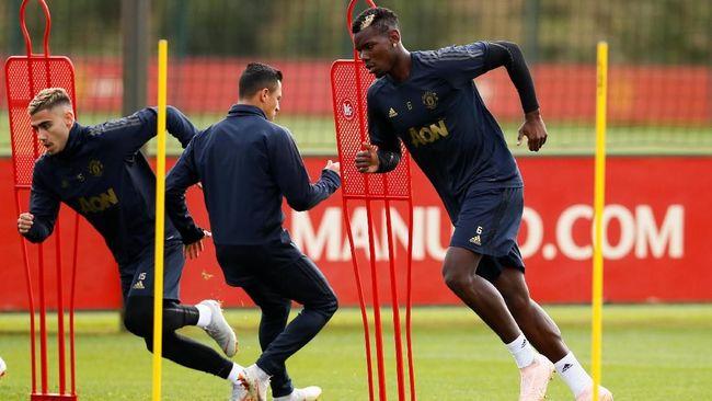 Jelang Tottenham Melawan Man United Paul Pogba Sangat Senang Dapat Vitamin D