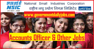NSIC Recruitment 2018 Online Apply 85 Accounts Officer Vacancies