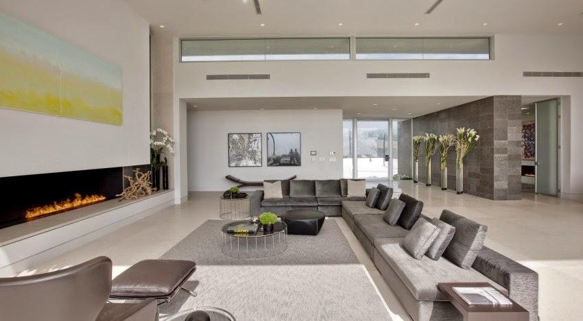 Hogares frescos casa beverly hills por mcclean dise o for Casa minimalista grande