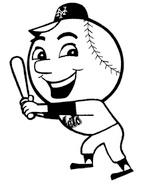 Baseball byways take me out to the ballpark for Mets coloring pages
