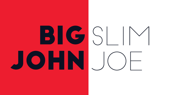 Big John Slim Joe Free Font Preview