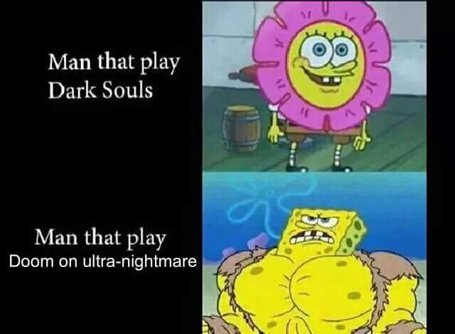 Dark Souls vs. Ultra-Nightmare