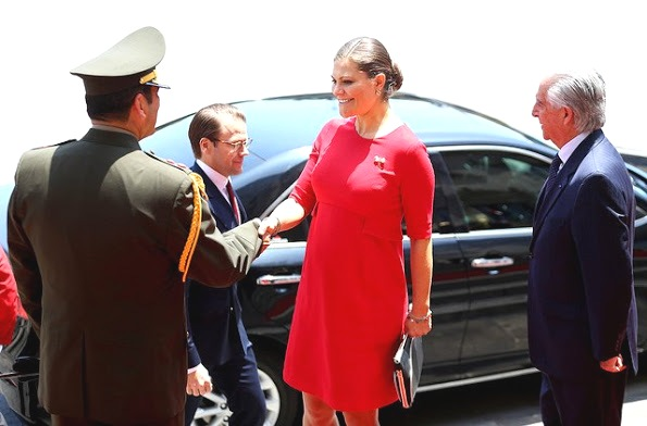 Princess Victoria And Prince Daniel Visit Peru, Day 1