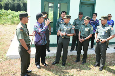 Plt Bupati Lampung Timur Terima Kunjungan Tim TNI AD