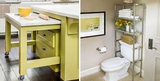Εντυπωσιακές προτάσεις για να εξοικονομήσετε χώρο στο σπίτι σας