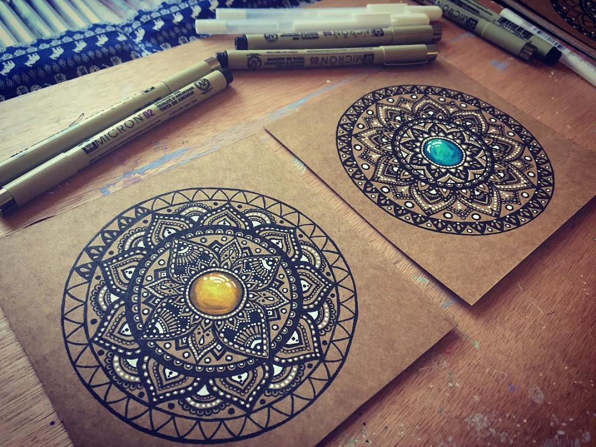 Mandalas para el estrés: 5 libros de mandalas para colorear que ...