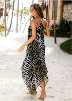 Rochie de plajă uşoară şi vaporoasă (bonprix)