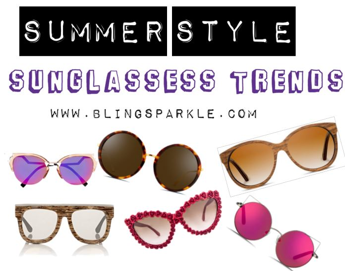 60d2a6157225 So what kind of sunglasses are in style this year? Wayfarers, mirrored, cat  eyes and mores lets have a look are the top sunglasses trends of 2016