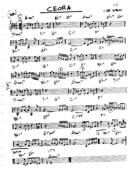 Partitura Violín Lee Morgan