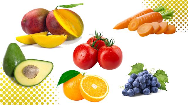 pele saudável, alimentos que nos fazem bem, antioxidantes, vitaminas, frutas, legumes, vitamina C