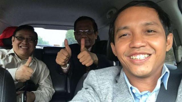 Nusron: Ada Perubahan Cawapres Jokowi, Mahfud Md Pulang