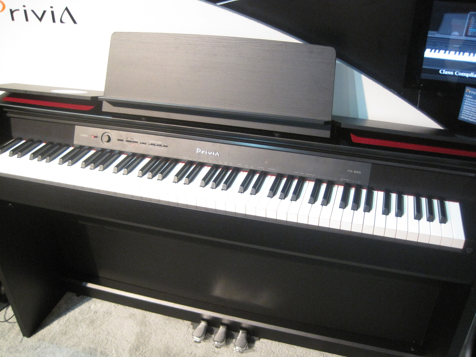 aa55454f165 AZ PIANO REVIEWS  REVIEW - Casio PX860 Digital Piano - RECOMMENDED