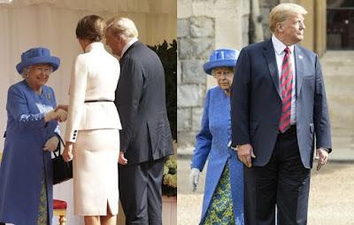 Trump Dikritik Tak Hormati Ratu Elizabeth II Dan Langgar Protokol Kerajaan