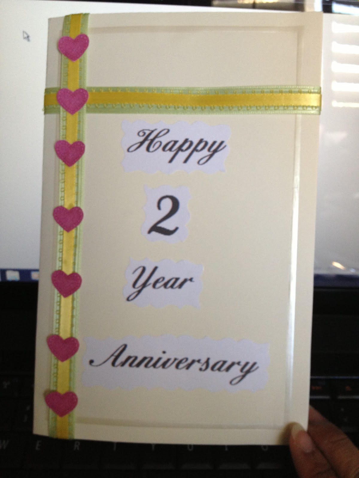 simply me diy anniversary card