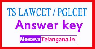TS LAWCET / PGLCET Preliminary Key 2017