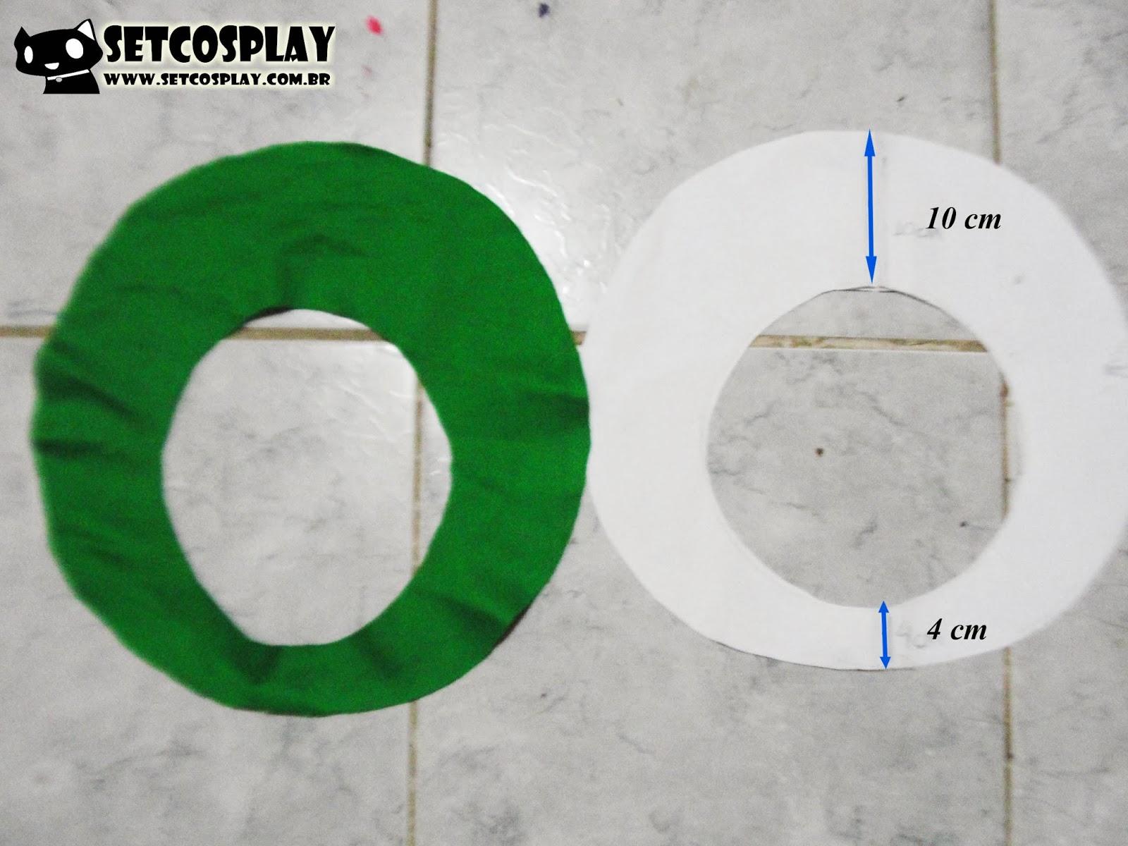 SetCosplay   TUTORIAL  Boina (Cap) do Luigi Mario + Roupa Cosplay e4c8c197fc8