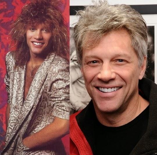 VJBrendan com: Then and Now    Jon Bon Jovi