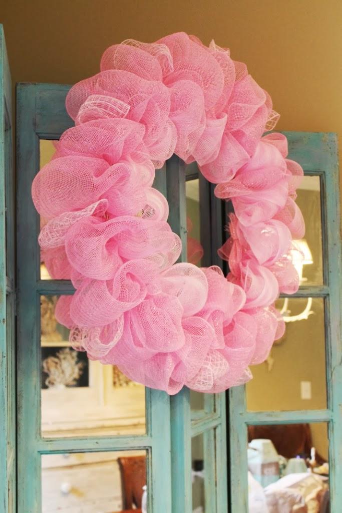 How To Make A Deco Mesh Ruffle Wreath Miss Kopy Kat