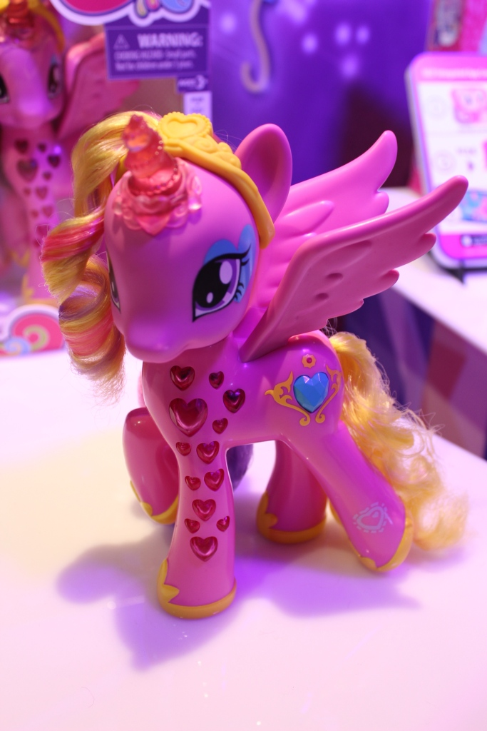 Glamour Glow Princess Cadance at NY Toy Fair 2015